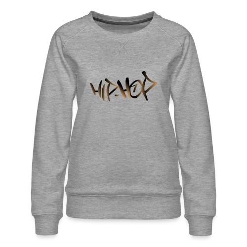 HIP HOP - Women's Premium Sweatshirt