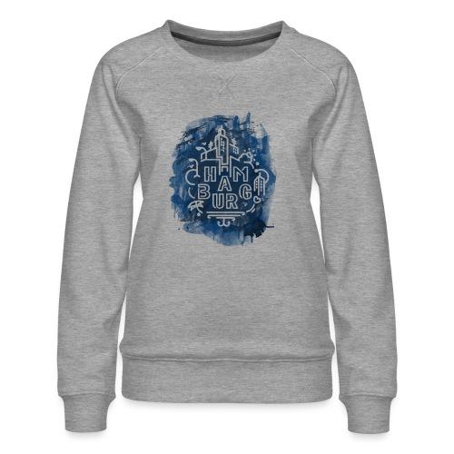 Hamburg_Ink.png - Frauen Premium Pullover