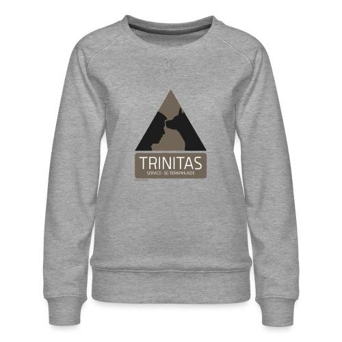 Trinitas Shirts - Dame premium sweatshirt