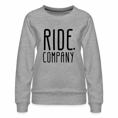 RIDE.company - just RIDE - Frauen Premium Pullover