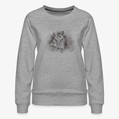 Owl be there for you - Dame premium sweatshirt