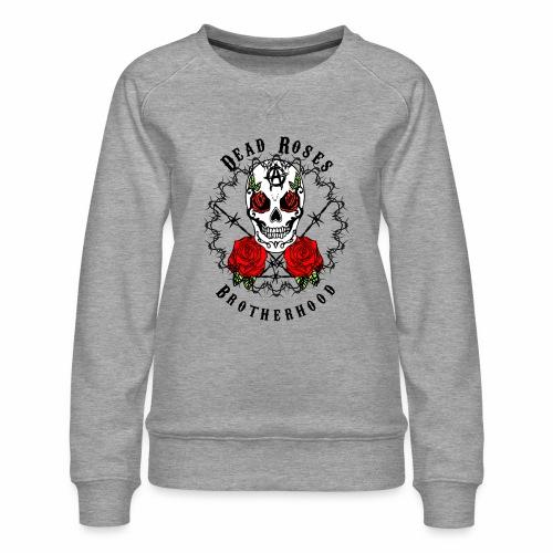 Dead Roses 2nd Logo - Women's Premium Sweatshirt
