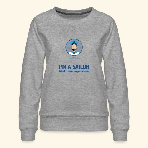 SeaProof Superpower - Frauen Premium Pullover
