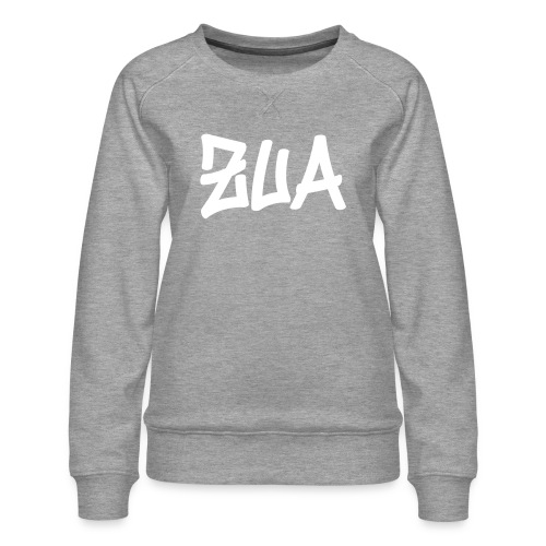 Vorschau: bumm zua - Frauen Premium Pullover