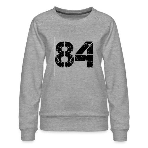 84 vo t gif - Vrouwen premium sweater