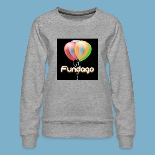 Fundago Ballon - Frauen Premium Pullover