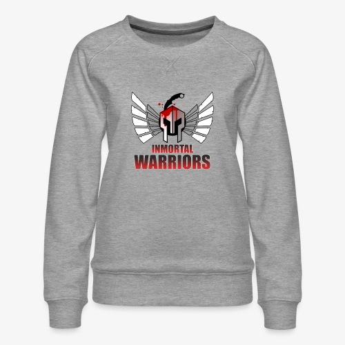 The Inmortal Warriors Team - Women's Premium Sweatshirt