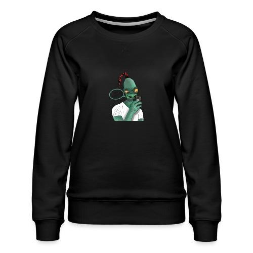 Modern Day Abe - Women's Premium Sweatshirt
