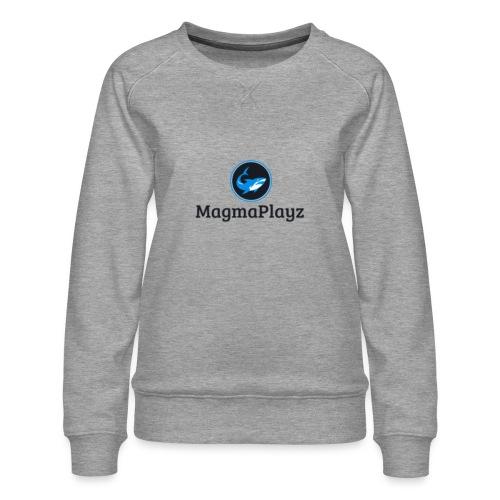 MagmaPlayz shark - Dame premium sweatshirt
