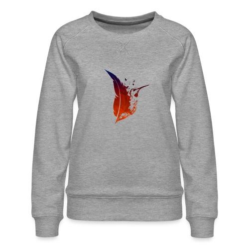 Colibri flamboyant - Sweat ras-du-cou Premium Femme
