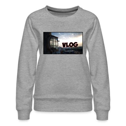 Vlog - Women's Premium Sweatshirt