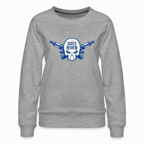The Scots Review Classic Logo - Women's Premium Sweatshirt