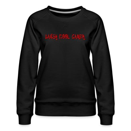 Dansk cool Gamer - Dame premium sweatshirt