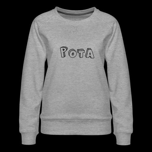 pota1 - Felpa premium da donna