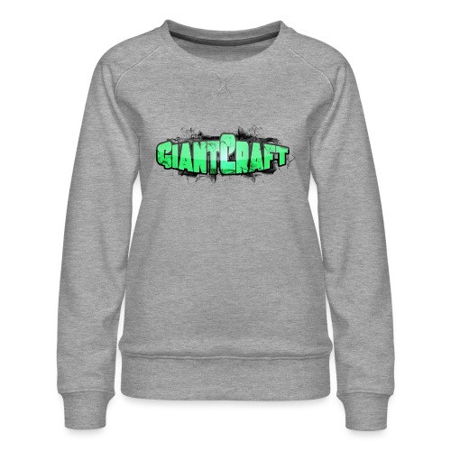 Vandflaske - GiantCraft - Dame premium sweatshirt