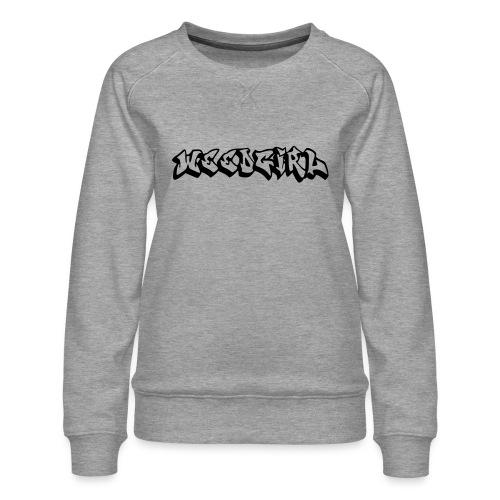 WEEDGIRL - Women's Premium Sweatshirt