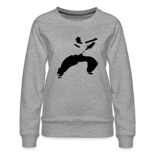 kung fu - Women's Premium Sweatshirt