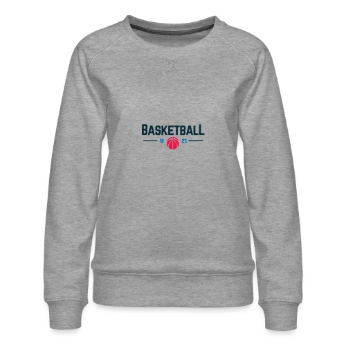 Basketball - Felpa premium da donna