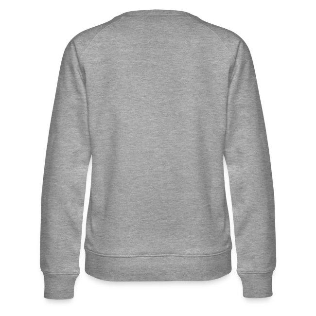 Vorschau: irgendwos hods oiwei - Frauen Premium Pullover