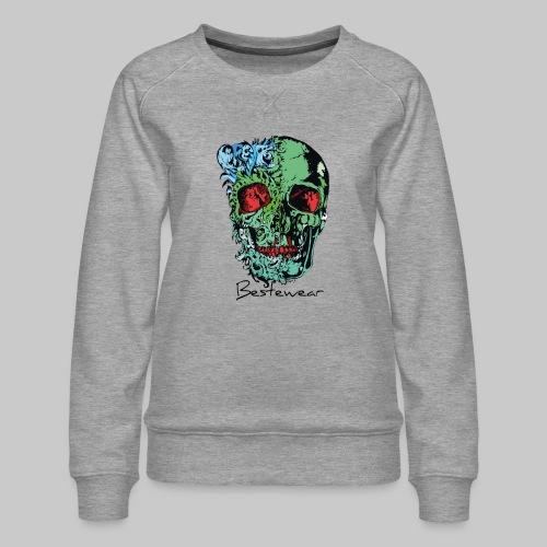 #Bestewear - Color of Dead - Frauen Premium Pullover