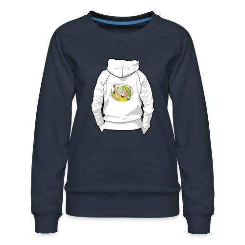 hoodyback - Vrouwen premium sweater