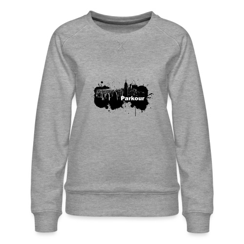 Parkour Splash New York - Dame premium sweatshirt