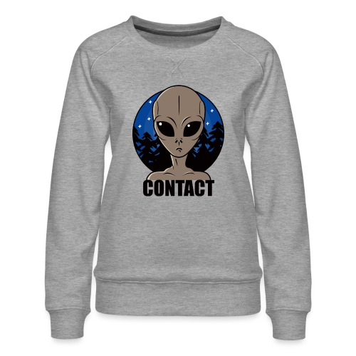Contact Extraterrestre - Sweat ras-du-cou Premium Femme