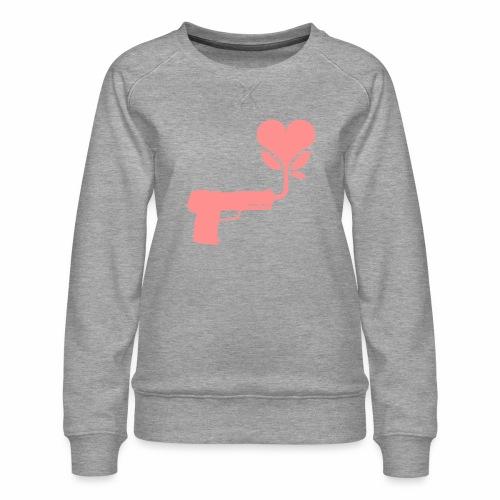 Local Underground logo flat - Women's Premium Sweatshirt
