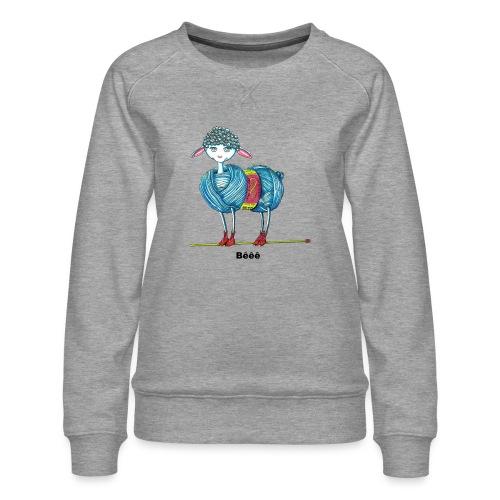 J'aime le tricot - Sweat ras-du-cou Premium Femme