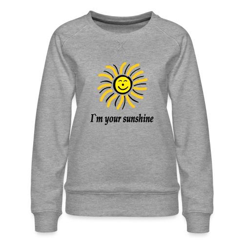 2i m youre sunshine Gelb Top - Frauen Premium Pullover
