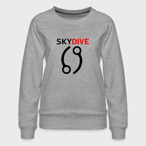 Skydive Pin 69 - Frauen Premium Pullover