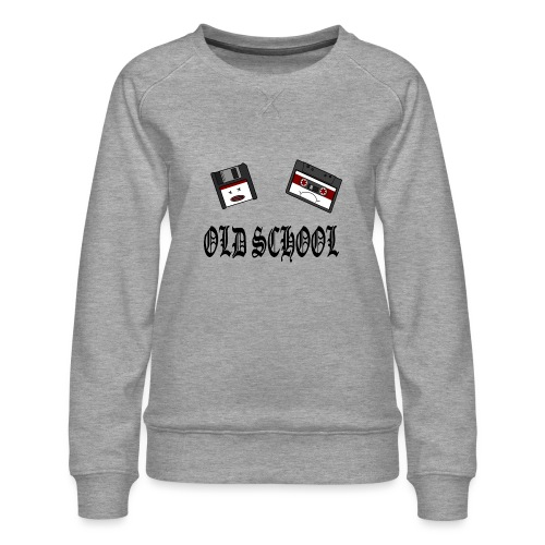 Old School Design - Frauen Premium Pullover