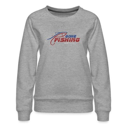 GONE-FISHING (2022) DEEPSEA/LAKE BOAT COLLECTION - Women's Premium Sweatshirt