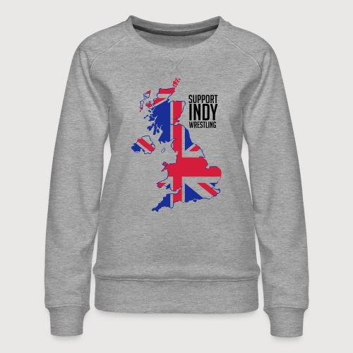 Indy Britain - Women's Premium Sweatshirt
