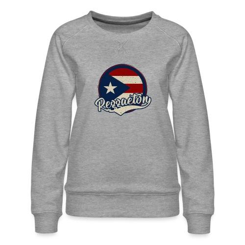 Reggaeton Music - Puerto Rico - Frauen Premium Pullover