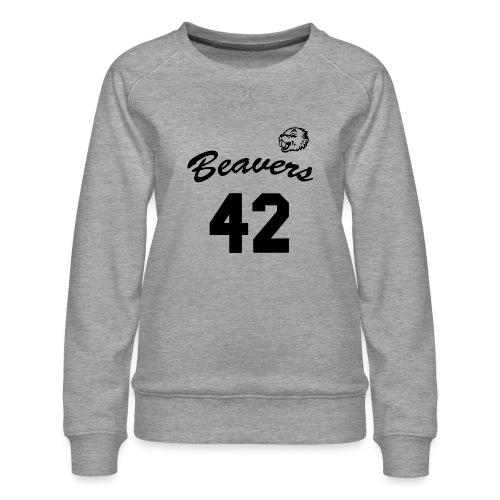 Beavers front - Vrouwen premium sweater