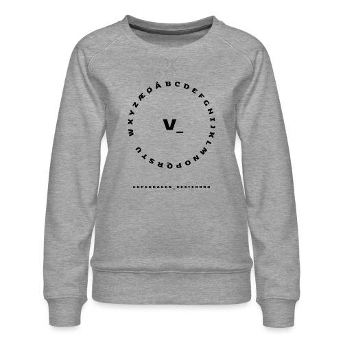 Vesterbro - Dame premium sweatshirt