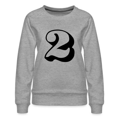 cool number 2 - Vrouwen premium sweater