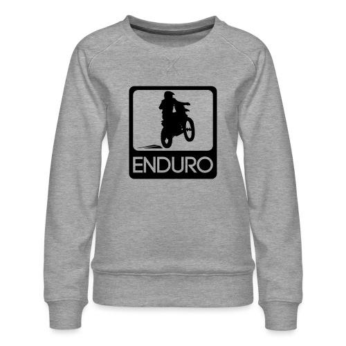 Enduro Rider - Frauen Premium Pullover