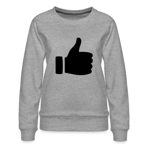 I like - gefällt mir! - Frauen Premium Pullover