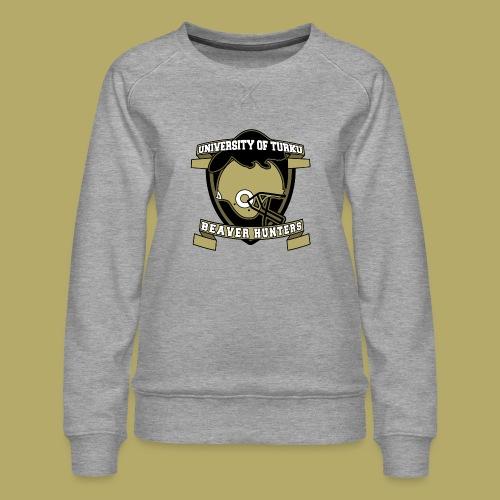 UTU Beaver Hunters - Naisten premium-collegepaita
