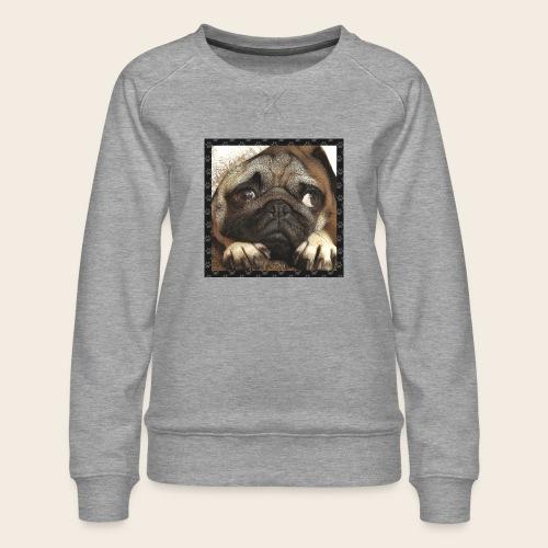 Mops Hund 1 - Frauen Premium Pullover