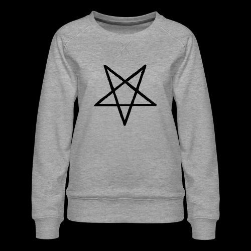 Pentagram2 png - Frauen Premium Pullover