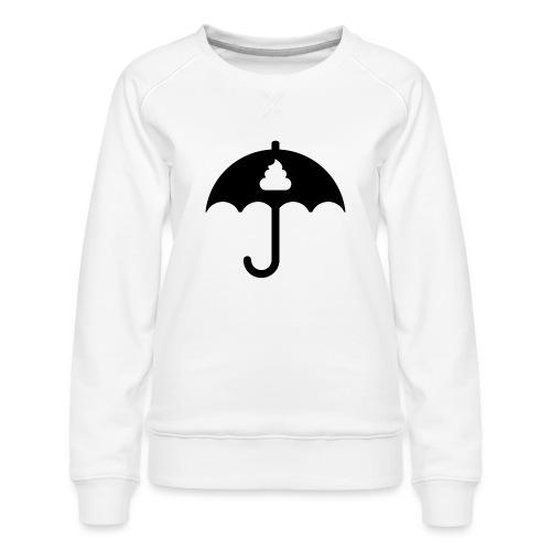 Shit icon Black png - Women's Premium Sweatshirt