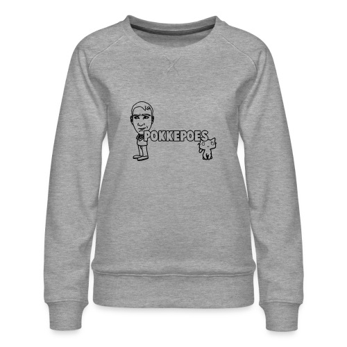 PokkepoesOntwerp3 png - Vrouwen premium sweater