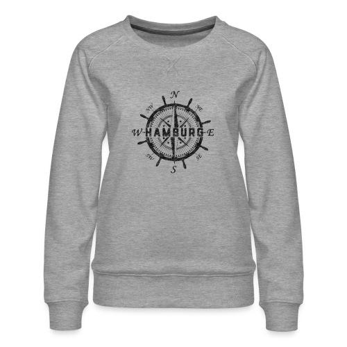 Hamburg Kompass - Frauen Premium Pullover