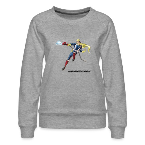 Captain Firefighter - Frauen Premium Pullover