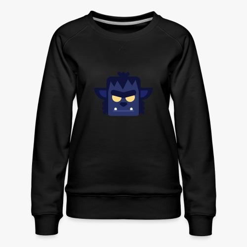 Mini Monsters - Lycan - Dame premium sweatshirt
