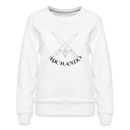 design 1 - Dame premium sweatshirt