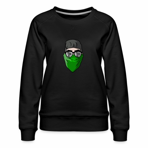 GBz bandana logo - Women's Premium Sweatshirt